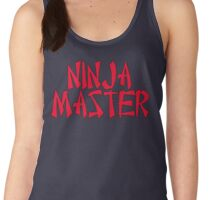 Ninja Master by Chillee Wilson Women's Tank Top