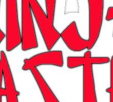 Ninja Master by Chillee Wilson Sticker