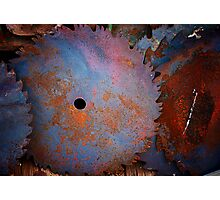 Colorful Blades Photographic Print