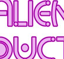 Alien Abductee by Chillee Wilson Sticker