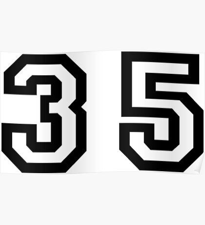 Thirty Five Poster
