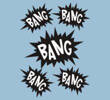 Cartoon Bangs by Chillee Wilson Kids Tee