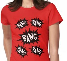 Cartoon Bangs by Chillee Wilson Womens Fitted T-Shirt