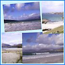 Hebridean Beaches Collage by BlueMoonRose