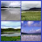 Sand, Sky and Sea - Hebridean Collage by BlueMoonRose