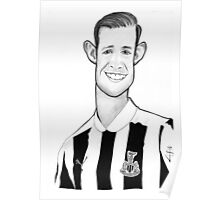 Caricature - Mike Williamson Poster