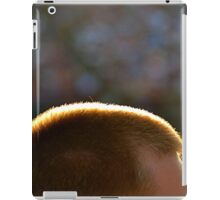 Backlit Buzz Cut iPad Case/Skin