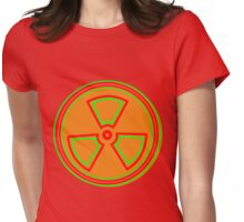 Radioactive [2] by Chillee Wilson Womens Fitted T-Shirt