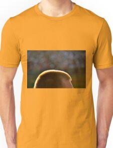 Backlit Buzz Cut Unisex T-Shirt