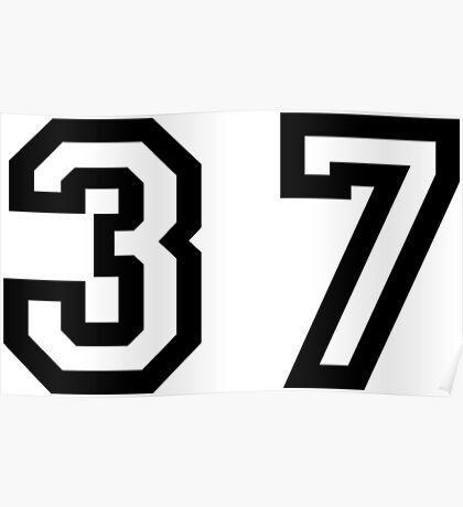 Thirty Seven Poster