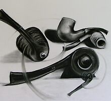 Pipe study by Cathy Gilday