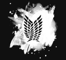 Scouting legion - white splash One Piece - Short Sleeve