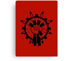 Group 935 Logo [CoD WaW/ Black Ops/ Black Ops II] Canvas Print