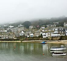 Mousehole in the Mist by Catherine Hamilton-Veal  ©