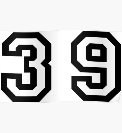 Thirty Nine Poster