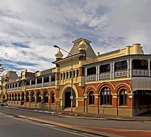 Historic Queens Hotel - The Strand Townsville by Paul Gilbert