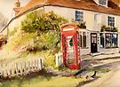 The phone box - Appledore by Beatrice Cloake