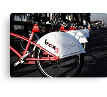Cycle your life Canvas Print