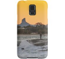 Sunset Fishing Samsung Galaxy Case/Skin