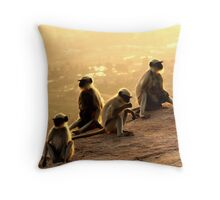 This Looks Like More Fun Than A Barrel Of Monkeys! Throw Pillow
