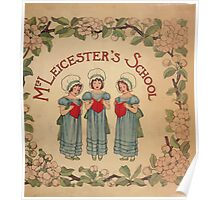 Mrs Leicester's School Charles & Mary Lamb with Minifred Green 18xx 0001 Title plate Poster