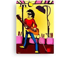 gitara Canvas Print