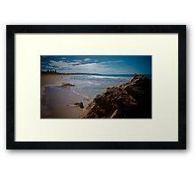 Chiton Rocks Framed Print