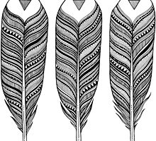 Tribal Feather by autistictic
