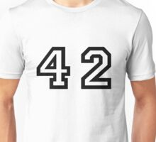 Forty Two Unisex T-Shirt