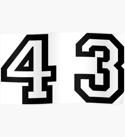 Forty Three Poster