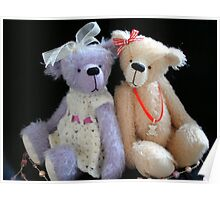 Tilly & Floss by Wee Darlin Bears Poster