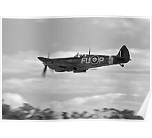 Spitfire fly past Poster
