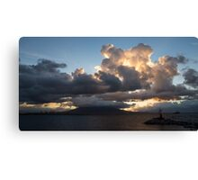 Vesuvius Cloud Eruption  Canvas Print