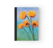 Oriental Poppies  Hardcover Journal