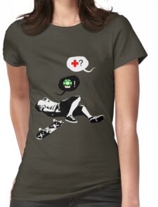 bails & bits  Womens Fitted T-Shirt