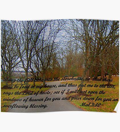 GOD'S STOREHOUSE OF BLESSINGS Poster