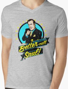 Classic Better Call Saul Quote Mens V-Neck T-Shirt