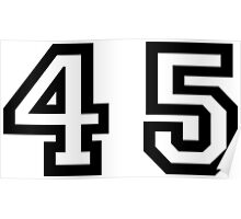 Forty Five Poster