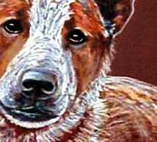 Murphy, The Cow Dog Sticker