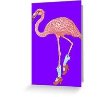 Flamingo Dancer Greeting Card