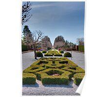 Niagara's Parterre Garden Poster