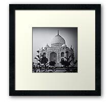 Mausoleum of Mumtaz - Taj Mahal Framed Print
