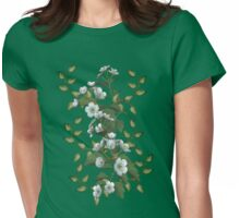 Spring Flowers Womens Fitted T-Shirt