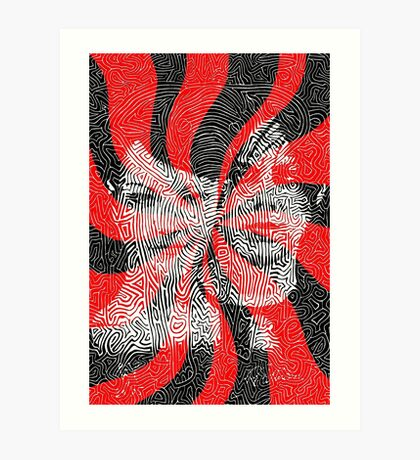 The White Stripes - Elephant (2005) Art Print