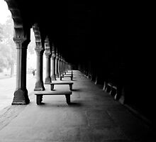 Vacant - Grounds of the Taj Mahal by Andrew To