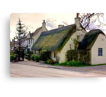 The Star Inn - Harome. Canvas Print