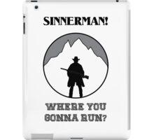The Dark Valley - Sinnerman - Sam Riley iPad Case/Skin