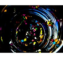 coloured spirals Photographic Print