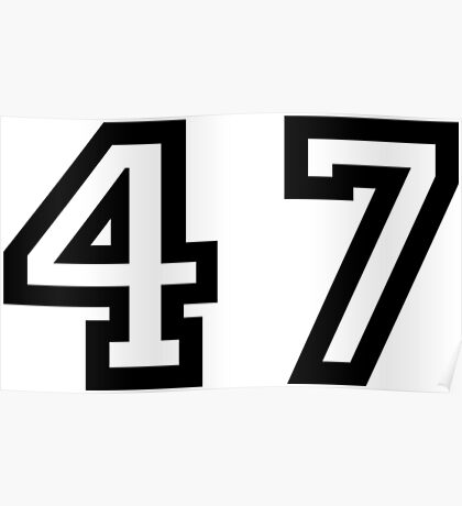 Forty Seven Poster