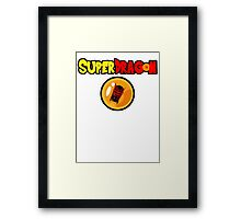 Super Dragon (dragon ball Z style) Framed Print